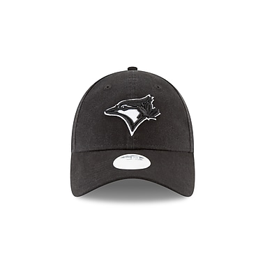 New Era Ladies' Toronto Blue Jays Preferred Pick 9Twenty Black Logo Cap