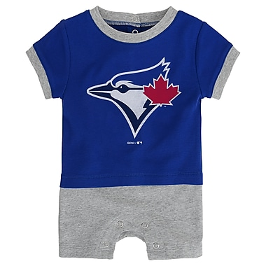 Outerstuff Toronto Blue Jays Infant Base Runner Romper, 18 Month
