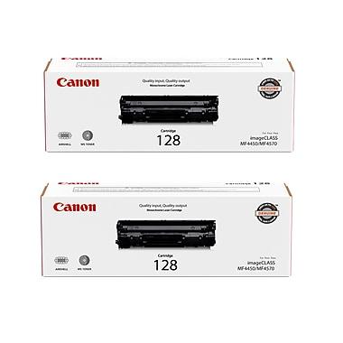 Canon - Cartouche de toner noir 128, paq./2 (3500B013)
