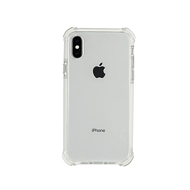 Tuff 8 For iPhone X Back Case With Triple Injection, White Trim (TUFF8WW)
