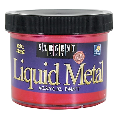 Sargent Art 4 oz Liquid Metals Metallic Acrylic