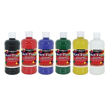 Sargent Art 16 oz. Art-Time Washable Tempera Paint