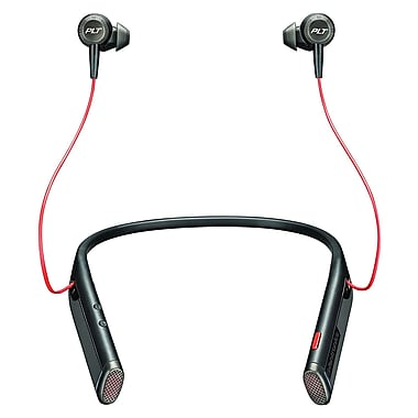 Plantronics Voyager 6200 UC Business Ready Bluetooth Neckband Headset With Earbuds