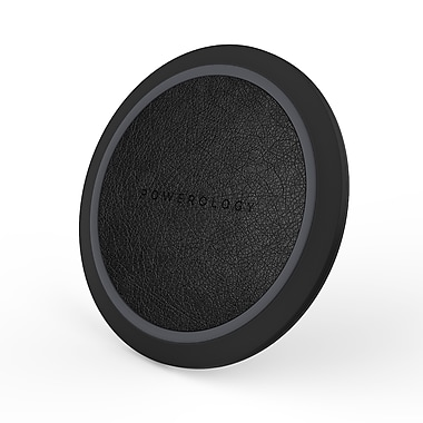Powerology Wireless AirCharge - Fast Wireless Charger Pad for Qi' Compatible Devices