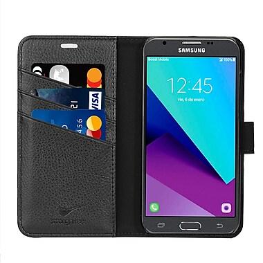 Strong N Free - Étui de type portefeuille Samsung J3 2017, noir