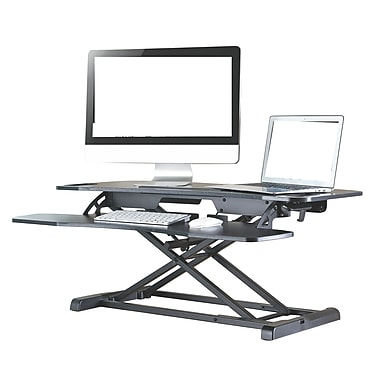 TygerClaw Sit and Stand Desktop Workstation (TYDS14018)