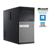 DELL - PC de table 7010, tour, remis à neuf, Intel Core i5 3470, 3,2 GHz, DD 1 To, DDR3 12 Go, Windows 10 Pro