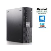 DELL Refurbished 980 SFF Desktop Computer, 3.2 GHz Intel Core i5 650, 500 GB HDD, 4 GB DDR3, Windows 10 Home