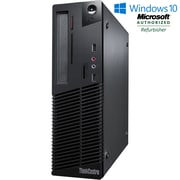 LENOVO - PC de table M73 SFF remis à neuf, Intel Core-i3 4130, 3,4 GHz, DD 250 Go, DDR3 4 Go, Windows 10 Pro