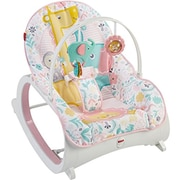 Fisher-Price Infant-to-Toddler Rocker, Pink (DTH00)