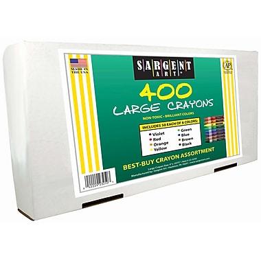 Sargent Art 400-Piece Crayon Best-Buy Assortment
