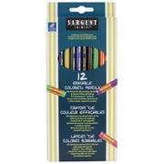 Sargent Art 12-Colour Sargent Erasable Coloured Pencil, 6/Pack (22-7203)