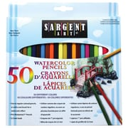 Sargent Art 50-Colour Water Colour Pencils, 12/Pack (22-7273)