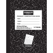 Sargent Art 100 Sheets Hard Cover Primary Ruled Composition Notebook, 36/Pack (23-1535)