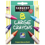 Sargent Art 8-Colour Crayon