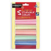 Sargent Art 5-Colour Sidewalk Chalk