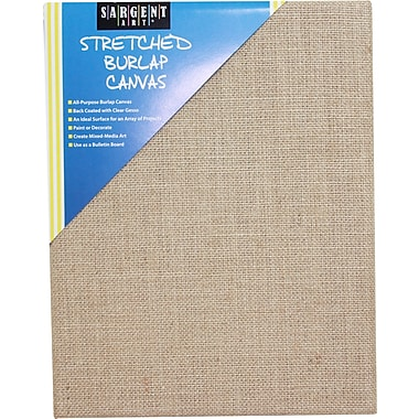 Sargent Art Stretched Canvas,10/Pack
