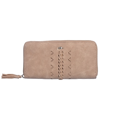 Roots 73 Zip-Around Clutch Wallet With 12 Credit Card Slots