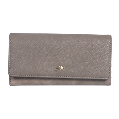 Roots 73 Slim Clutch Wallet With 10 Credit Card Slots
