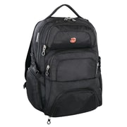 "Swiss Gear® 17.3"" Laptop Backpack, Black (SWA1456R 009)"