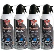 Dust Off DPSXL4 Disposable Dusters, 4/Pack