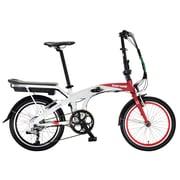Benelli - Vélo électrique Foldecity avec cadre de 20 po, dérailleur 7 vitesses Shimano Tourney, 250 W