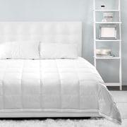 Whole Home Microgel Duvet 233TC 100% Cotton, White, Queen (MG001-WHT-QUN)