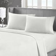 Blanc de Blanc Cashmere/Cotton 400 Thread Count Sheet Set, White