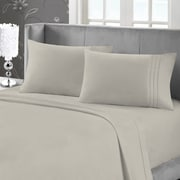 Blanc de Blanc Cashmere/Cotton 400 Thread Count Sheet Set, Linen