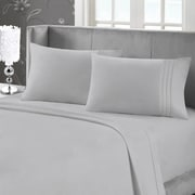 Blanc de Blanc Cashmere/Cotton 400 Thread Count Sheet Set, Silver
