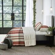 Adrien Lewis Woodland Reversible 2-Piece Comforter Set, Red