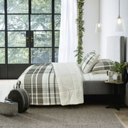 Adrien Lewis Woodland Reversible 2-Piece Comforter Set, Charcoal