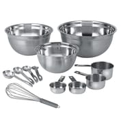A La Cuisine Mixing and Measuring 12 Piece Kit, Stainless Steel (K2921-417-12PCS)