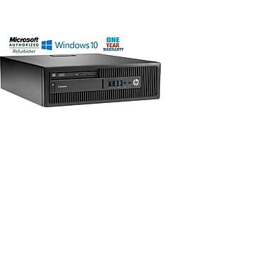HP - PC de table ELITEDESK 800G1 SFF remis à neuf, Intel Core i5 4570 3,2 GHz, SSD 120 Go, DDR3 8 Go, Windows 10 Pro