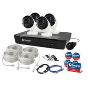 Swann 8-Channel 4K 2TB NVR-8580 Security System with 4 Thermal Sensing Bullet Cameras (SWNVK-885804)