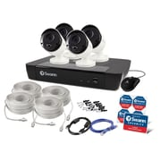 Swann 8-Channel 5MP 2TB NVR-8580 Security System with 4 Thermal Sensing Bullet Cameras (SWNVK-875804)