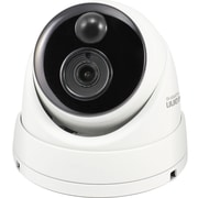 Swann 4K Outdoor IP True Detect Thermal-Sensing Dome Security Camera with Audio, White (SWNHD-886MSD)
