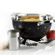 A La Cuisine Colander 3-Piece Set, Stainless Steel (MB008-ST1-3PCS)