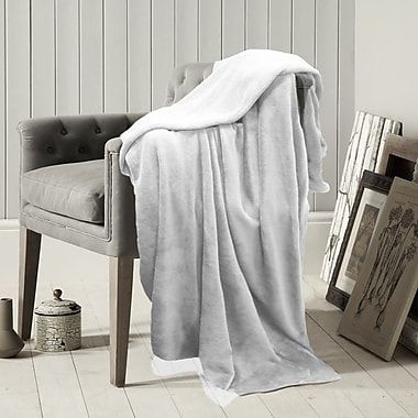 Lauren Taylor Microfleece Blanket, 60