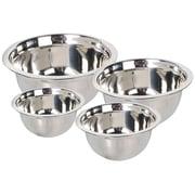 A La Cuisine Mixing Bowls 4 Piece Set Stainless Steel (MB011-ST1-4PCS)