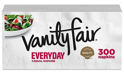 //.staples-3p.com/s7/is/  sc 1 st  Staples & Vanity Fair® Everyday Napkins 2-Ply 300/Pack (35503/14) | Staples