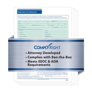 ComplyRight State-Compliant Job Application, Connecticut, 50 Pack