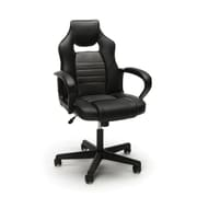 Essentials by OFM Racing Style Gaming Chair, Gray (ESS-3083-GRY)