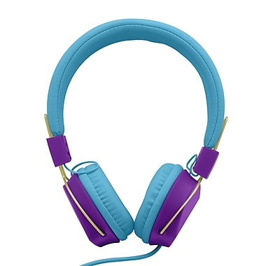 Limited Too Girls' Colourburst Foldable Headphones with Mic