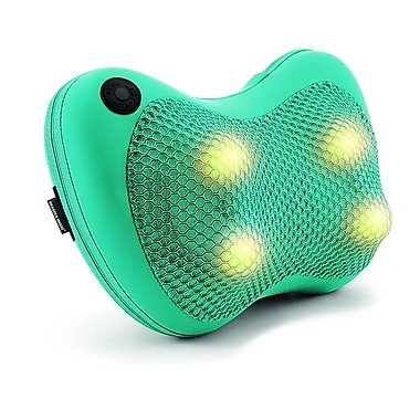 Sharper Image Heating Shiatsu Massage Pillow