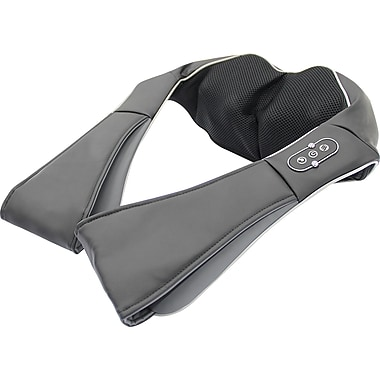 Sharper Image Shiatsu Upper Back Massager Black Staples