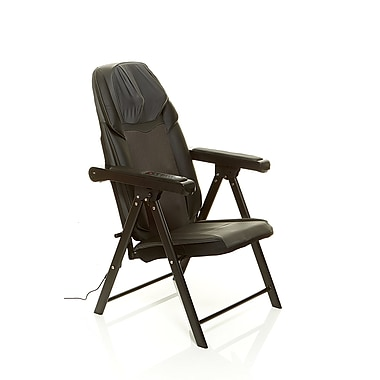 Sharper Image Portable Full Shiatsu Massage Chair Staples