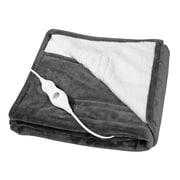 Sharper Image Heated Throw Blanket