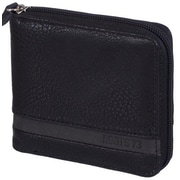 Roots 73 Men's Zip-Around Wallet, Black