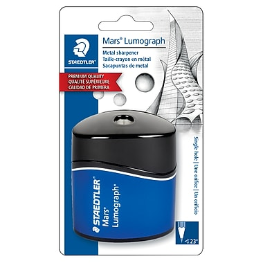Staedtler® Single Hole Metal Pencil Sharpener